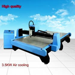 1300*2500 CNC woodworking machine with 3.5KW air cooling spindle for cutting and engraving