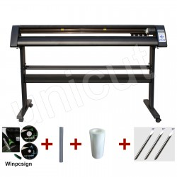 Redsail brand new 54'' cutting plotter with contour cutting for letters and graphics * Winpcsign