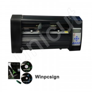 New A4 contouring cutting black vinyl cutter with high quality *Winpcsign