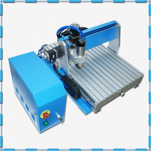 Mini desktop mini cnc router 6090 with CE certification for working on mini materials