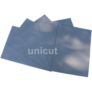 SILICONE RUBBER SHEET 5PCS GREY PRINGTING LASER ENGRAVING SEALER STAMP A4 2.3MM