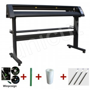 1120 mm New black cutting plotter RS series with contour cutting for vinyl sticker and car sticker * Winpcsign software